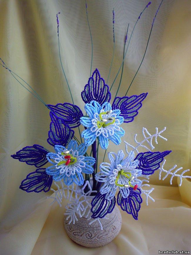 Информация по фото (ID 34807) Рейтинг 20, Средняя оценка 5 Проголосовали 4. Цветы и деревья из бисера.