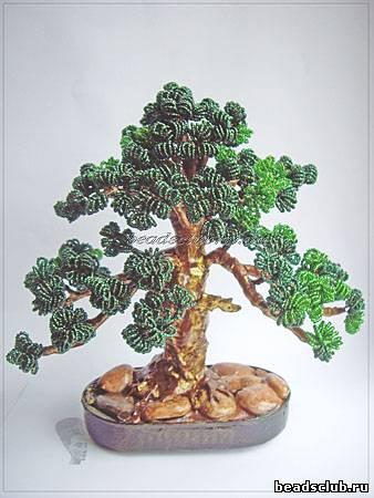 деревья из бисера мастер класс